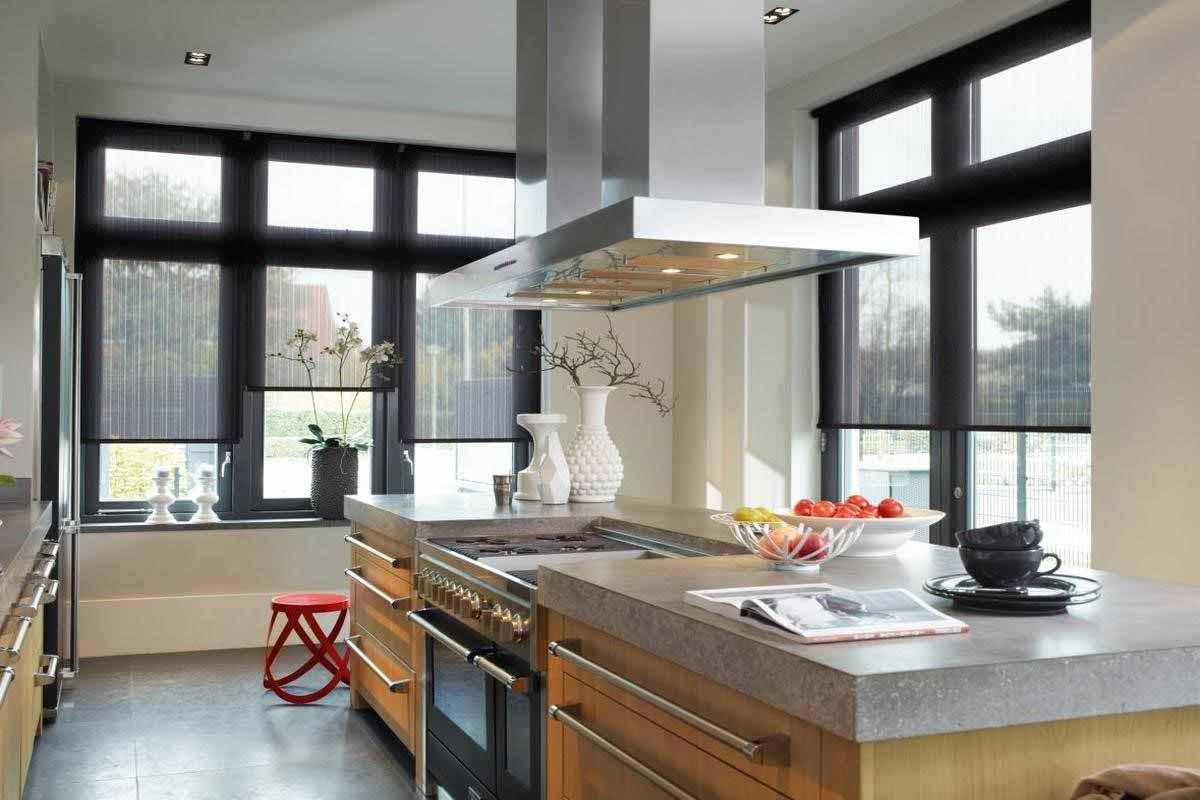C mo elegir las cortinas ideales para tu cocina - Como elegir cocina ...